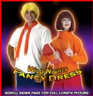 2x NEW fancy dress scooby doo costumes ~ VELMA + FRED